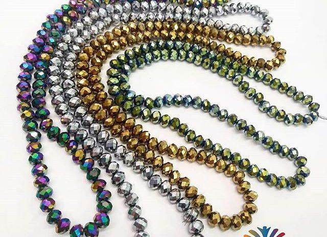 murano chino / sartas de murano chino / cristal rondela facetado / sartas de cristal rondela facetado chino / whatsapp (+57) 3054294405