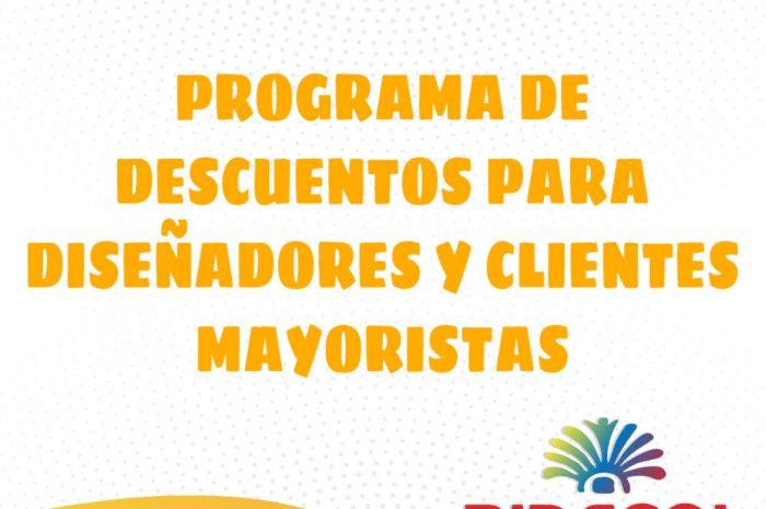Programa De Descuentos Para Diseñadores y Clientes Mayoristas