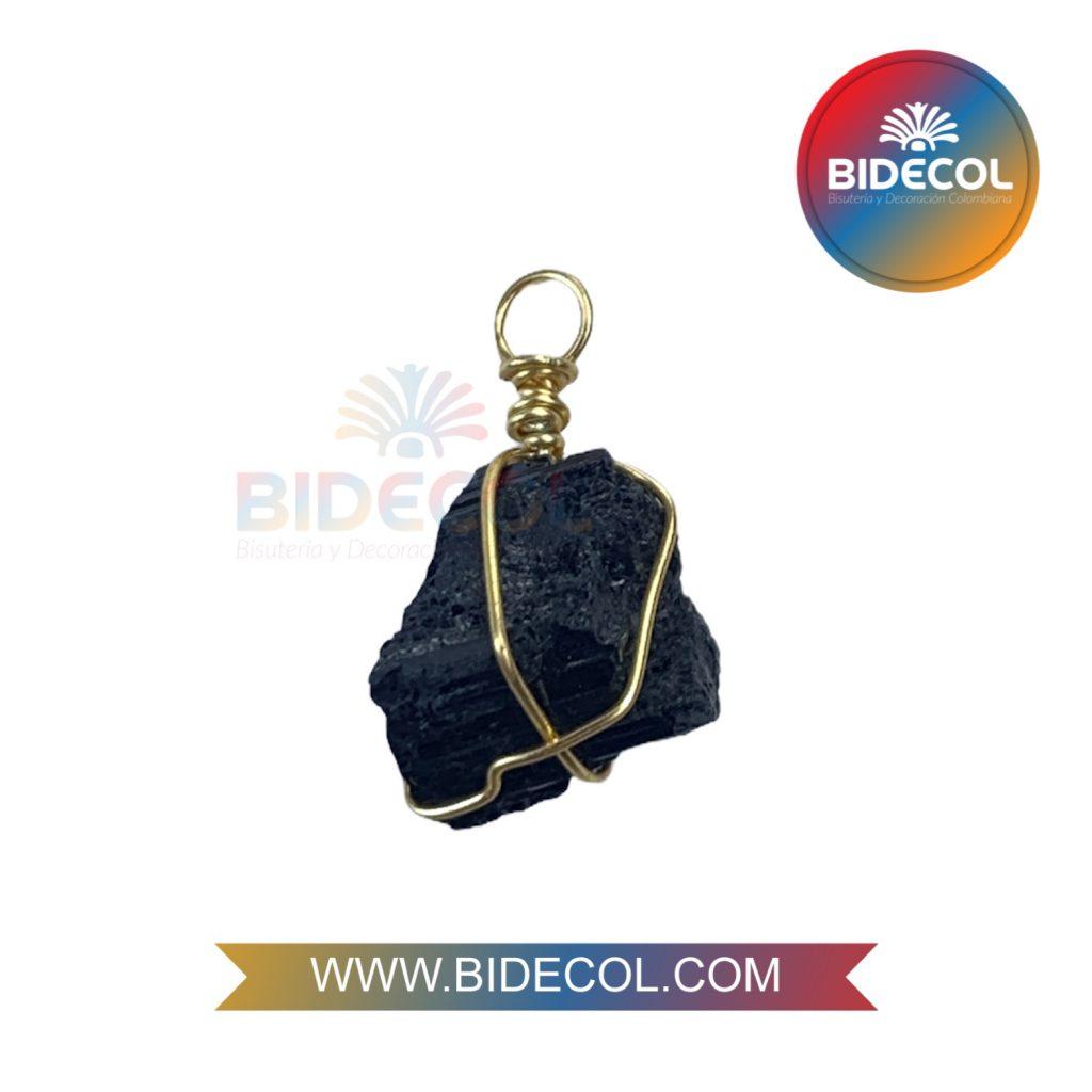 Piedra Entorchada Bidecol Turmalina Negra