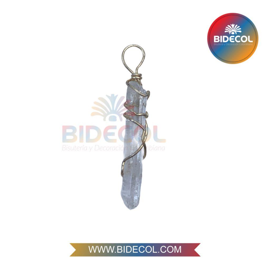 Piedra Entorchada Bidecol Cuarzo Cristal