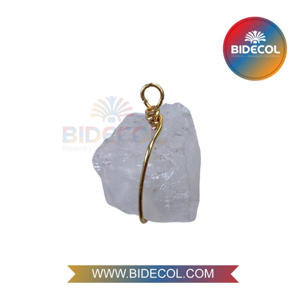 Piedra Entorchada Bidecol Cuarzo Rosado