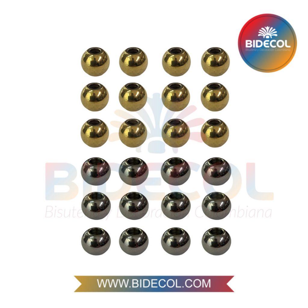Balines de acero 8mm de moda Bidecol