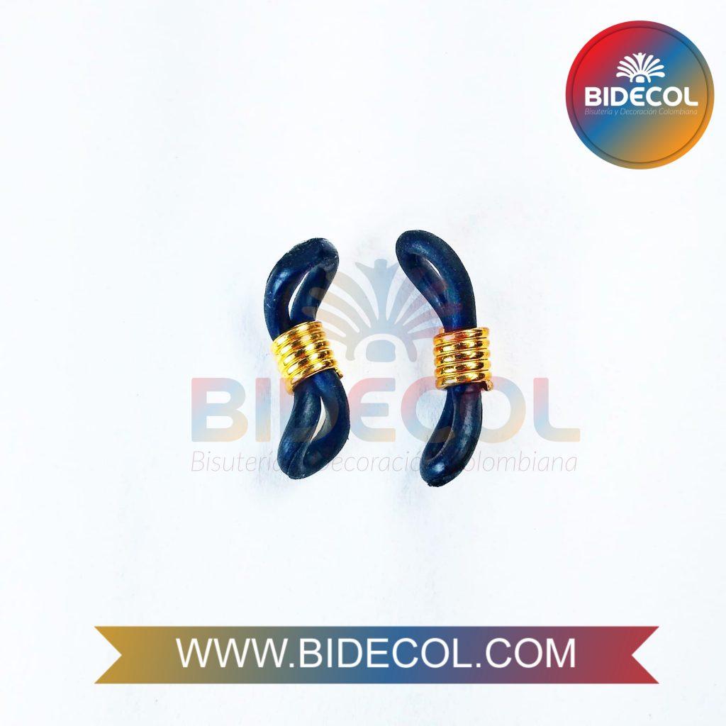 Terminales para gafas en silicona Bidecol 1
