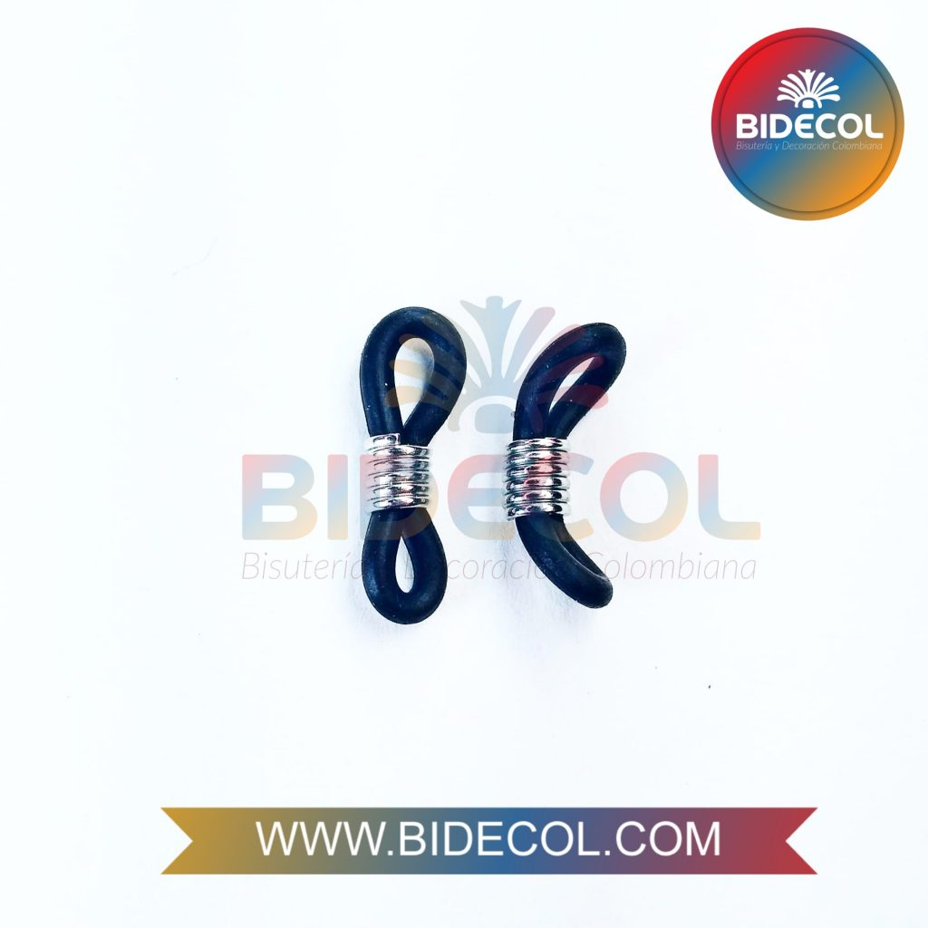 Terminales para gafas en silicona Bidecol 2