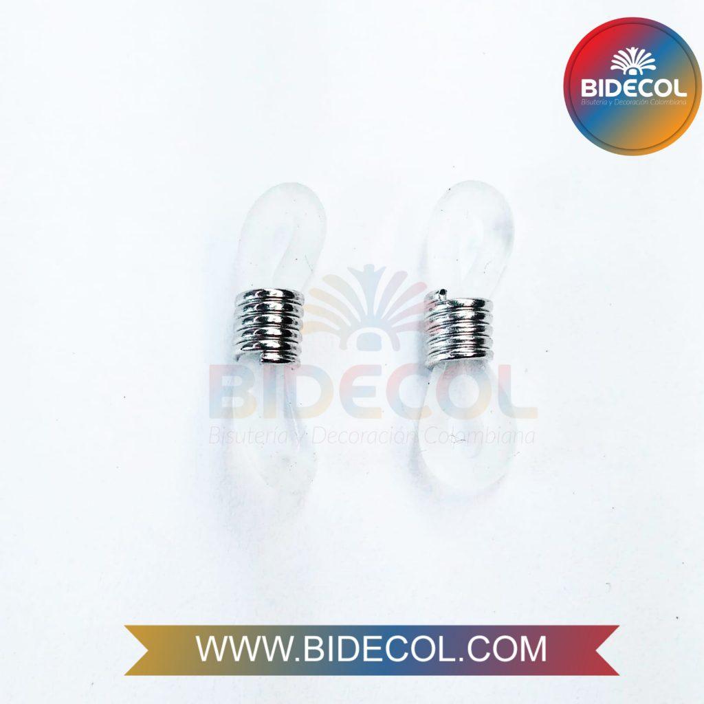 Terminales para gafas en silicona Bidecol 3