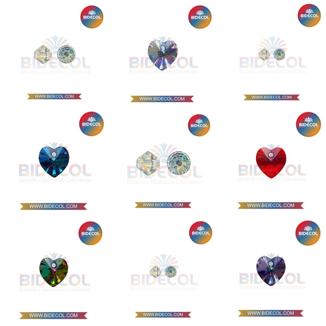 Venta Cristales Swarovski para bisutería Bidecol Bisuteria