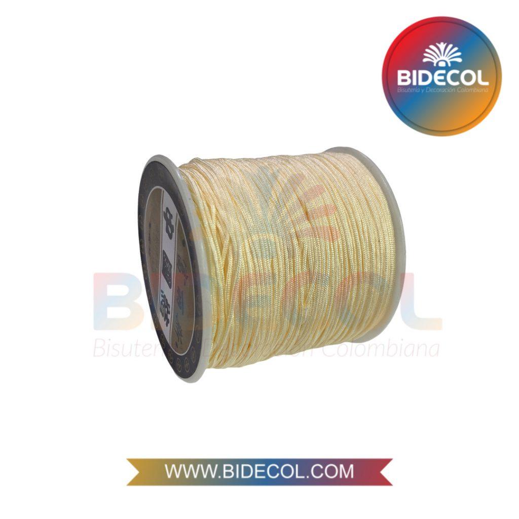Hilo Chino 0.8mm x 100m Crema x 1und BIDECOL