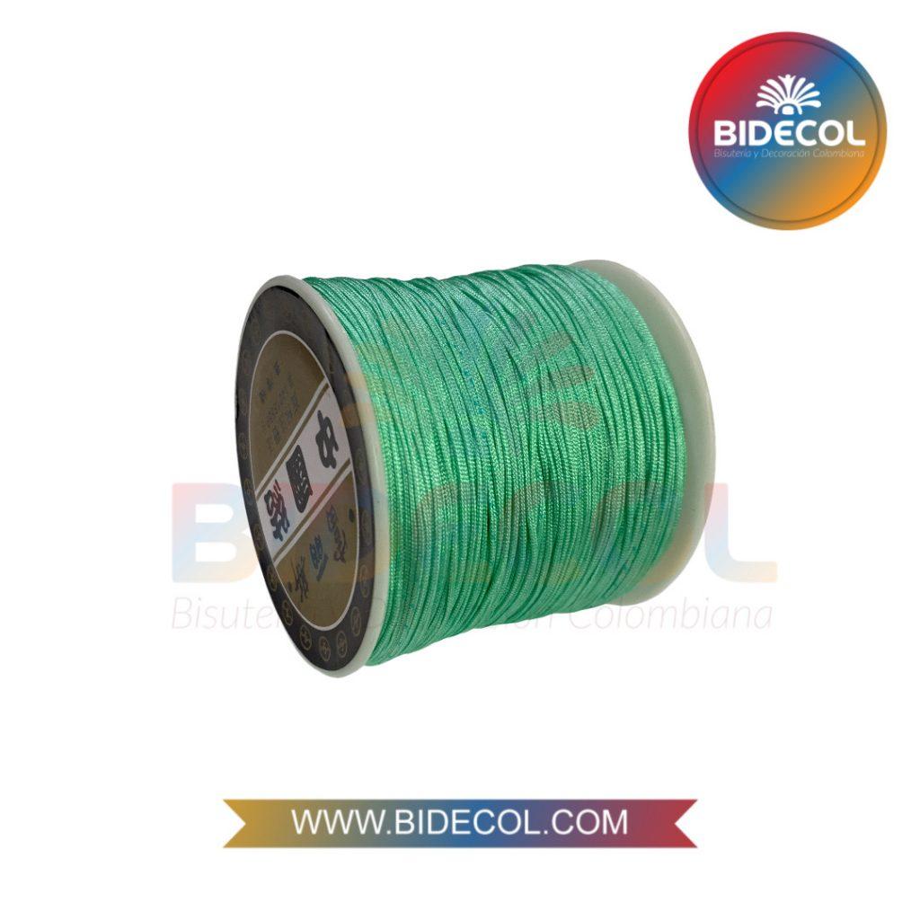 Hilo Chino 0.8mm x 100m Verde Menta x 1und BIDECOL