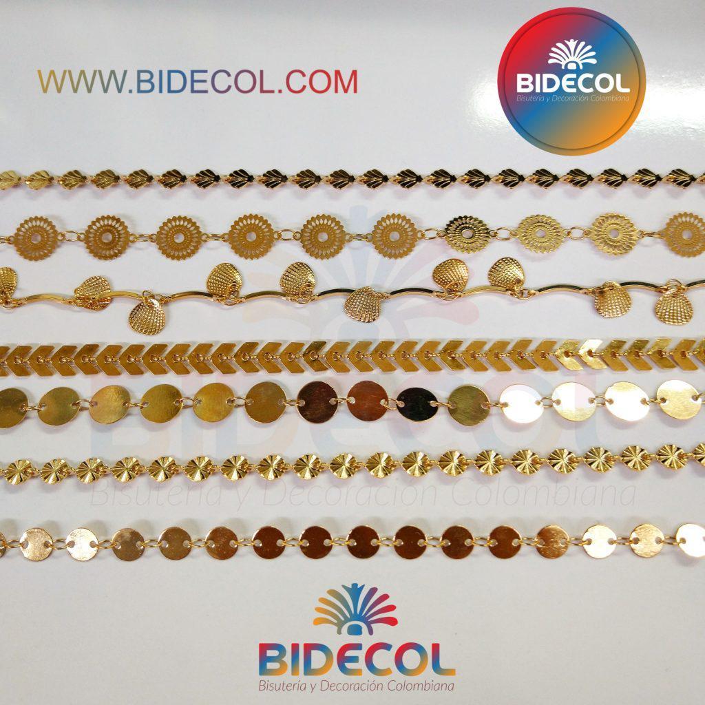 Cadenas Oro Golfi Bidecol www.bidecol.com www.bidecol.me