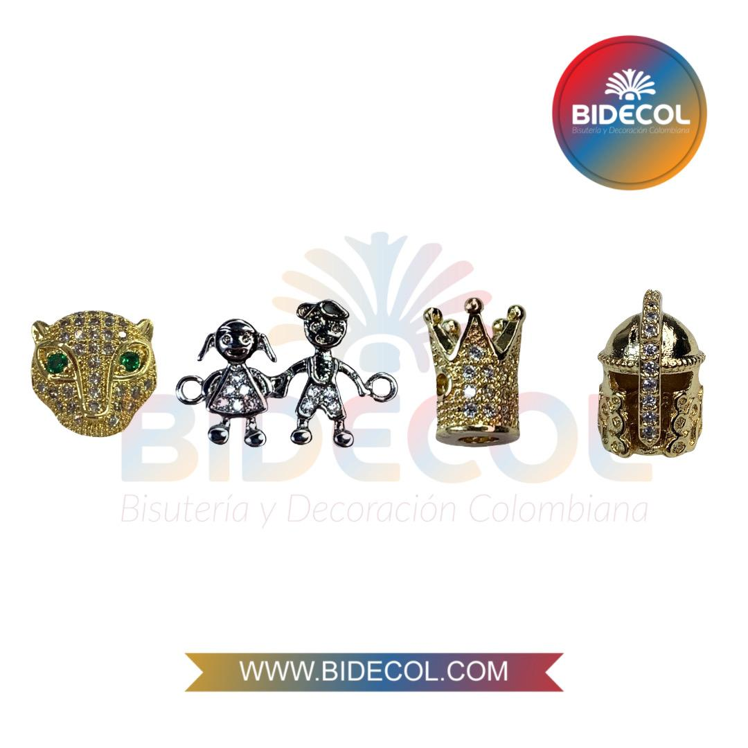 Dijes en Rodio Bidecol www.bidecol.com www.bodecol.me
