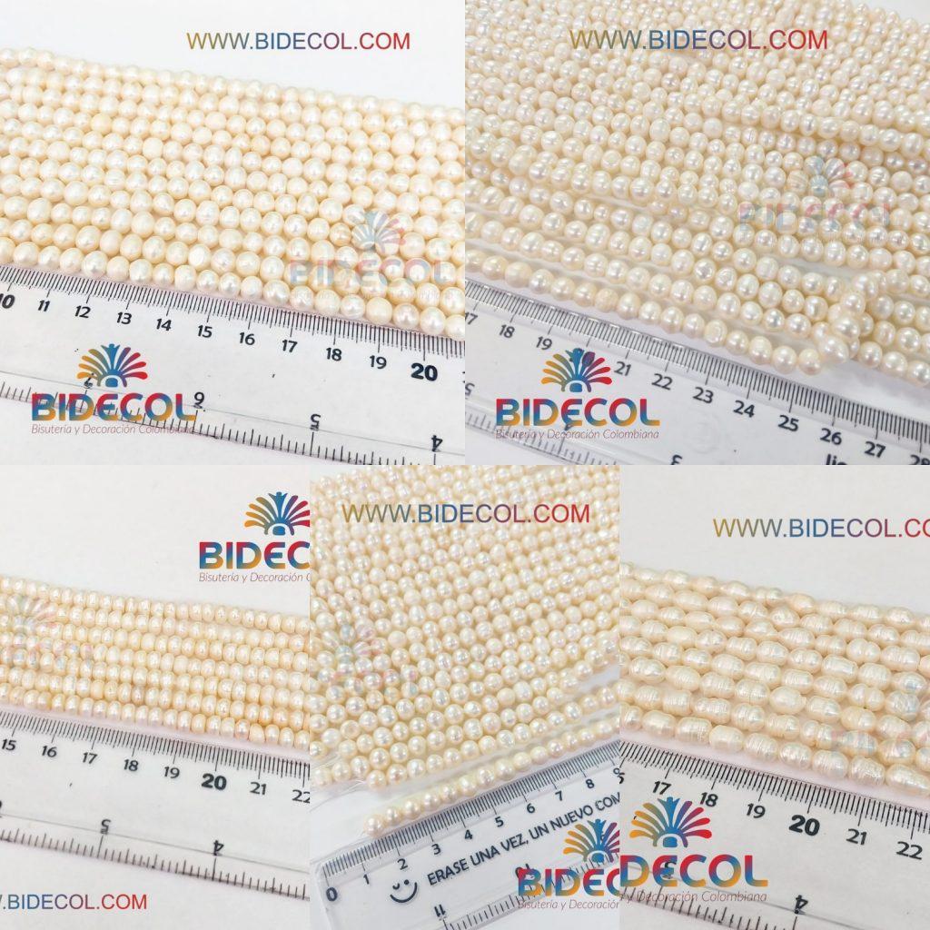 Perlas para Bisuteria Bidecol www.bidecol.com