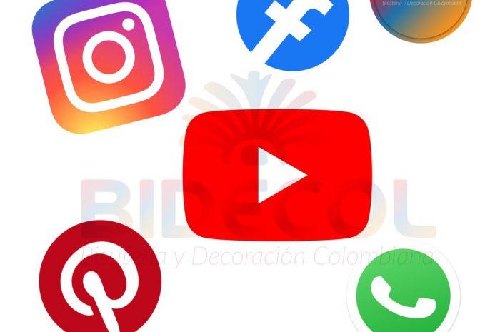 📲 Redes Sociales Bidecol 💻